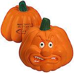 Pumpkin Angry Stress Balls